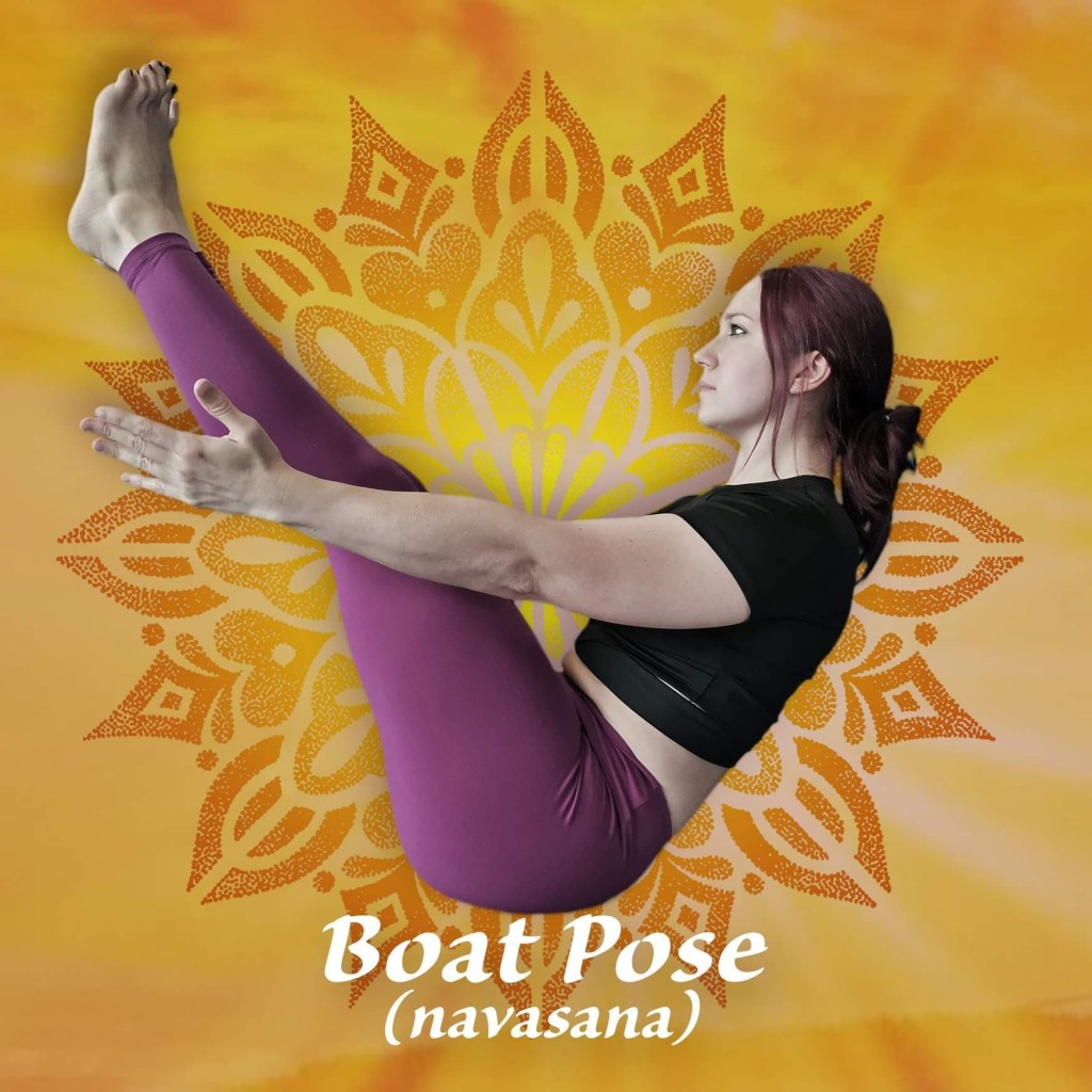 Boat Pose - Yoga in Taunton